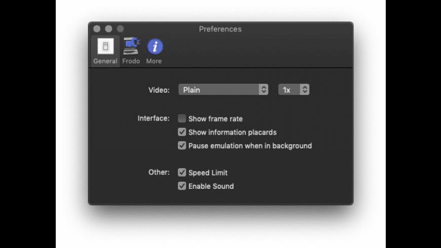 Frodo for Mac - review, screenshots