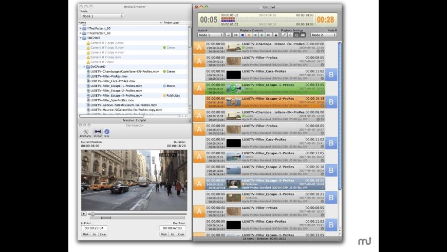 OnTheAir Live for Mac - review, screenshots