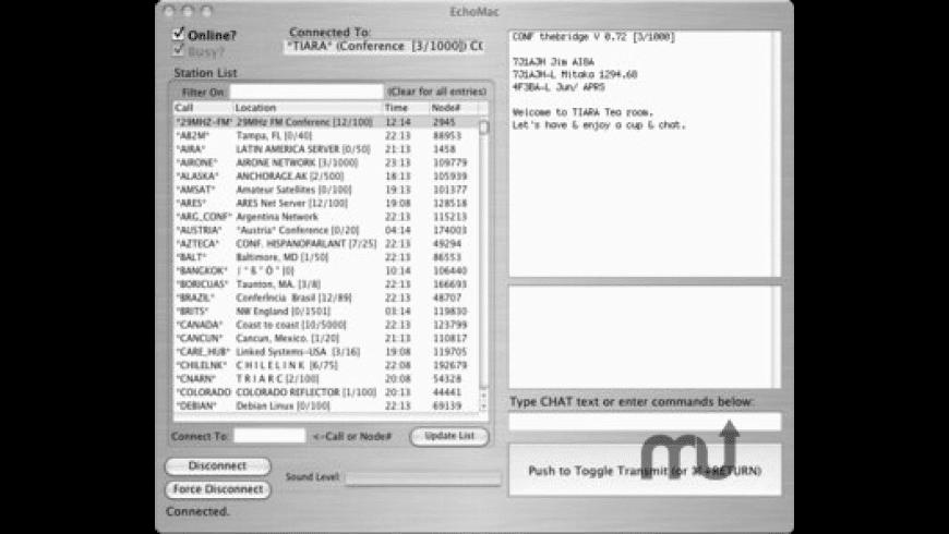 EchoMac for Mac - review, screenshots