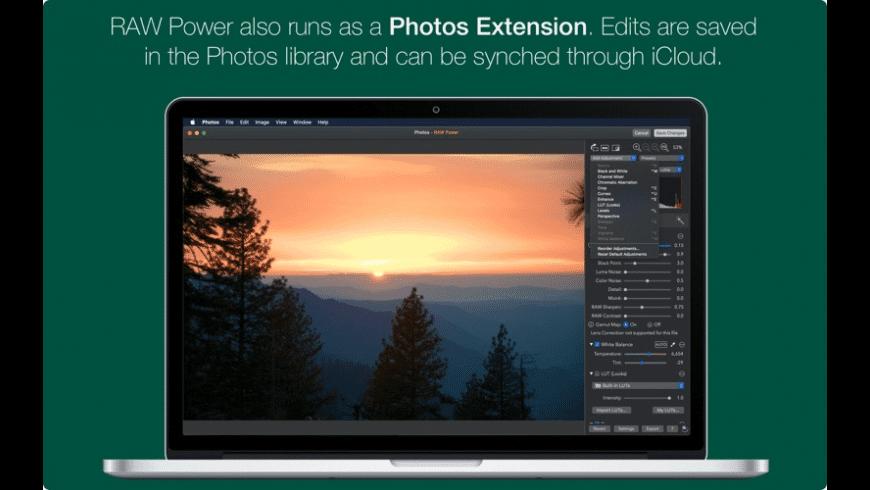RAW Power for Mac - review, screenshots