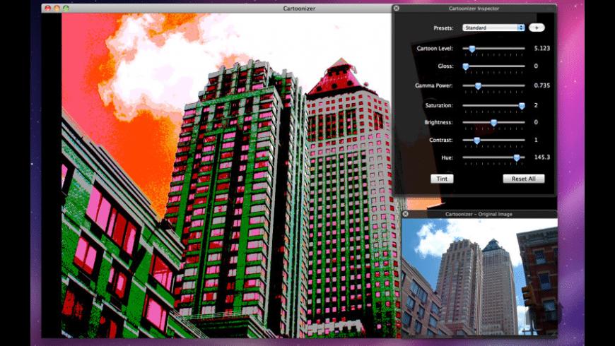 Cartoonizer for Mac - review, screenshots