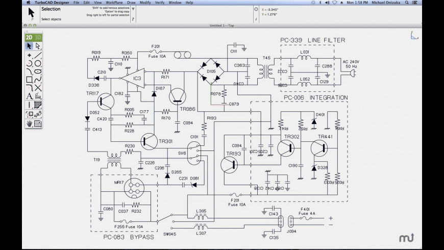 TurboCAD Mac Designer for Mac - review, screenshots