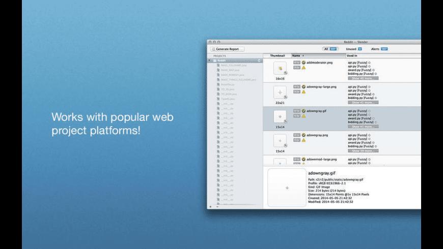 Slender for Mac - review, screenshots