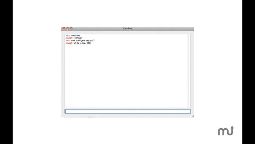 ChatBot for Mac - review, screenshots