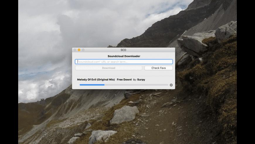 Soundcloud Downloader for Mac - review, screenshots