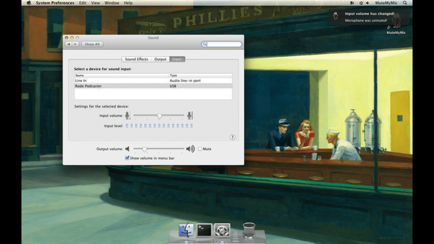 MuteMyMic for Mac - review, screenshots