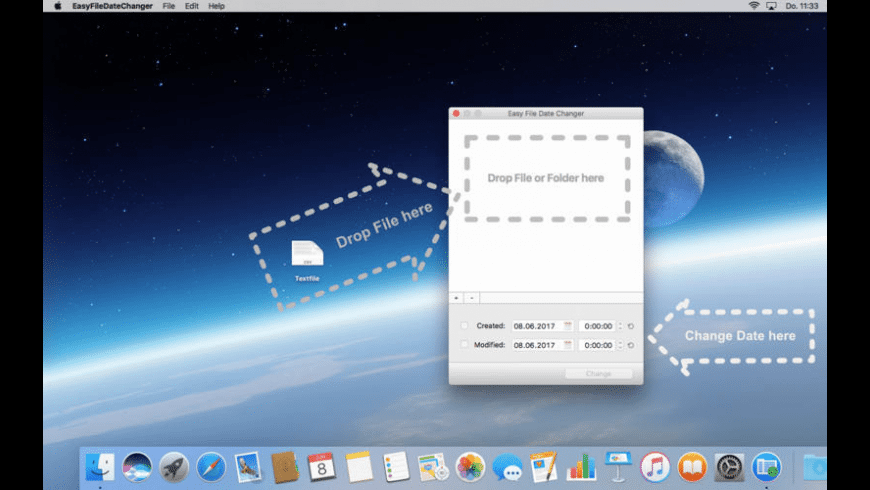 Easy File Date Changer for Mac - review, screenshots