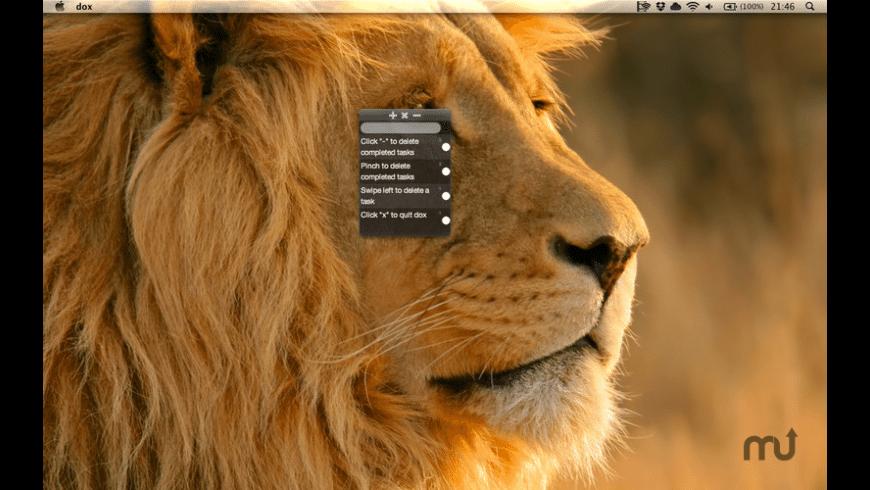 Dox for Mac - review, screenshots