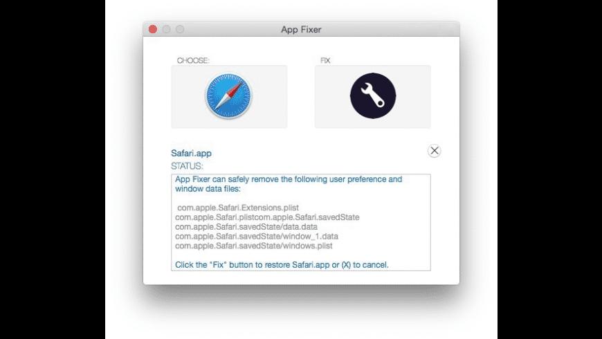App Fixer for Mac - review, screenshots