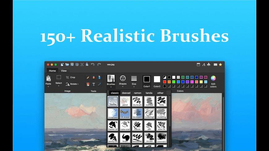 Paint X for Mac - review, screenshots