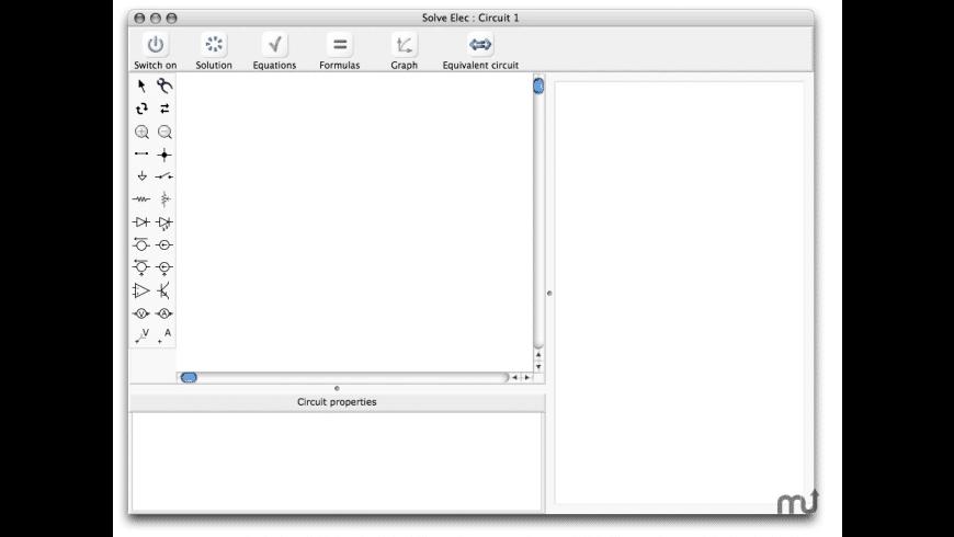 Solve Elec for Mac - review, screenshots