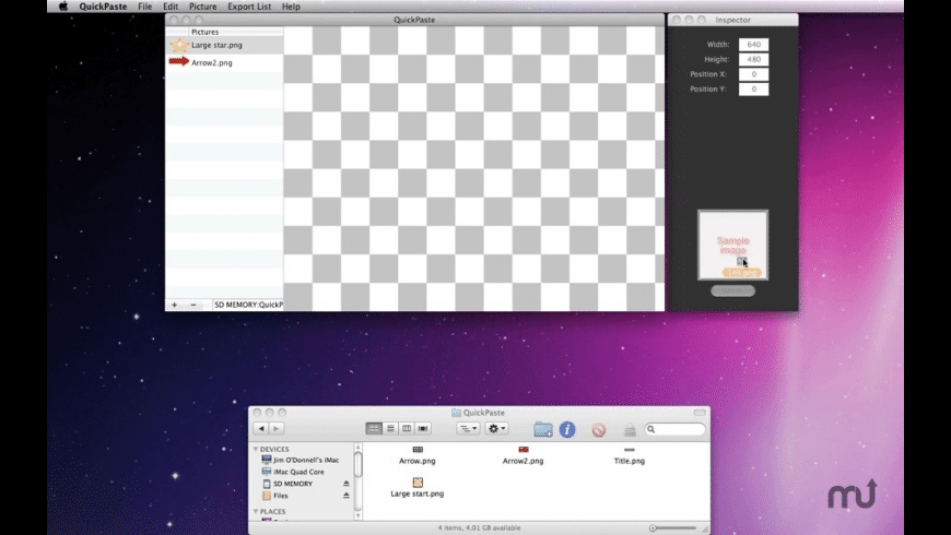 QuickPaste for Mac - review, screenshots