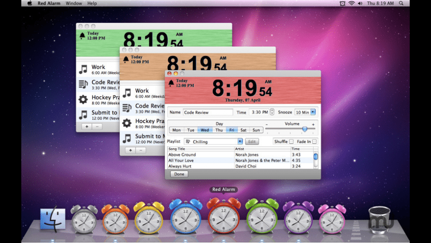 Red Alarm for Mac - review, screenshots