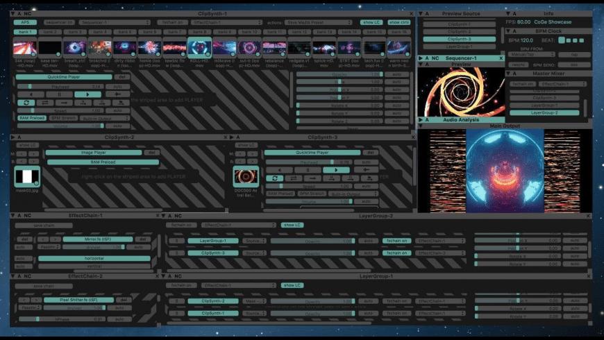 CoGe VJ for Mac - review, screenshots