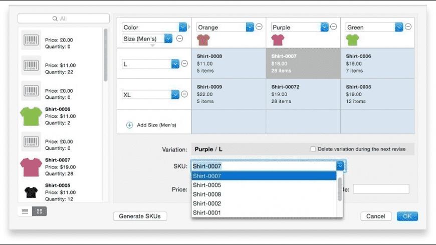 GarageSale for Mac - review, screenshots