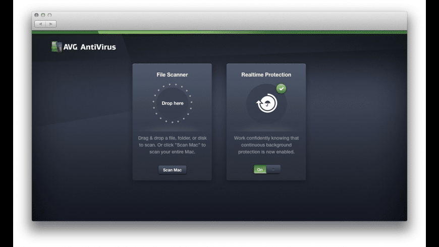AVG AntiVirus for Mac - review, screenshots