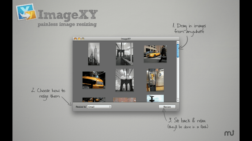 ImageXY for Mac - review, screenshots