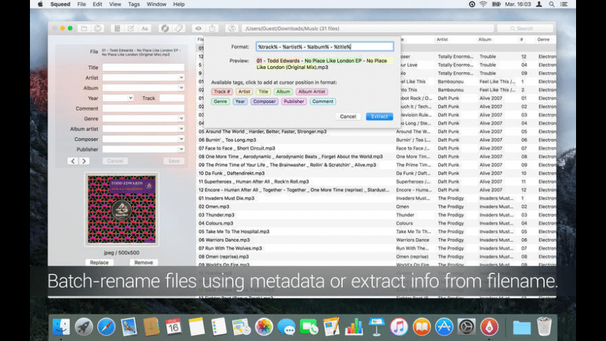Squeed for Mac - review, screenshots