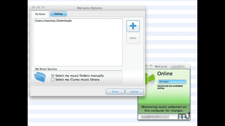 MeCanto for Mac - review, screenshots
