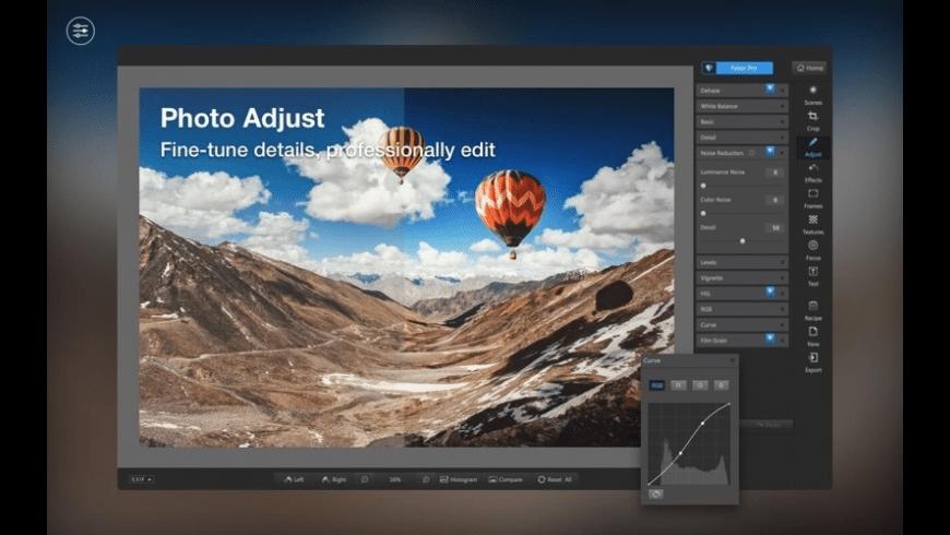 Fotor for Mac - review, screenshots