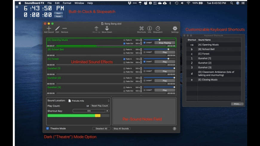 SoundBoard FX for Mac - review, screenshots