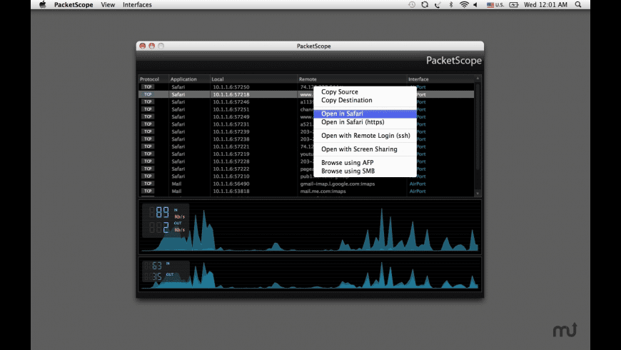 PacketScope for Mac - review, screenshots