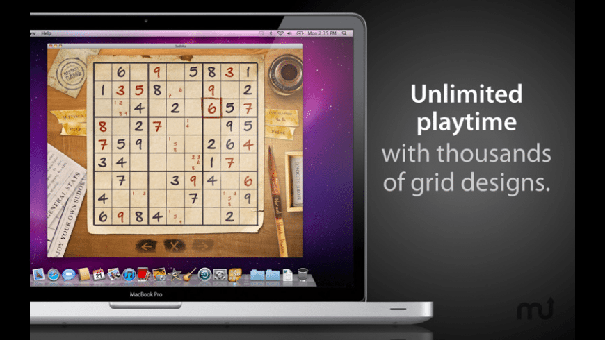Sudoku Deluxe for Mac - review, screenshots