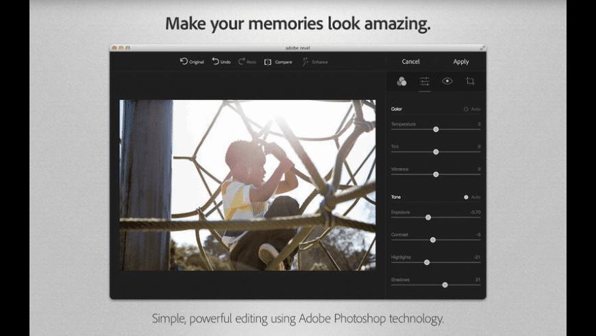 Adobe Revel for Mac - review, screenshots