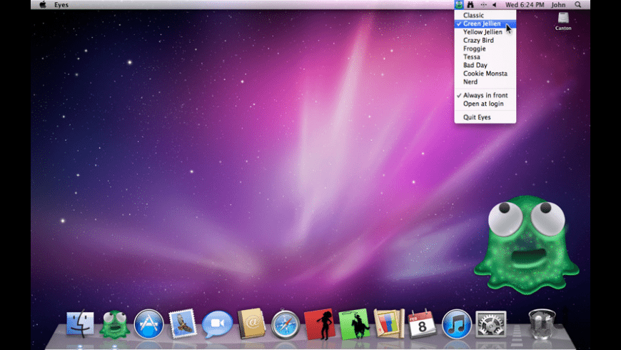 Eyes for Mac - review, screenshots