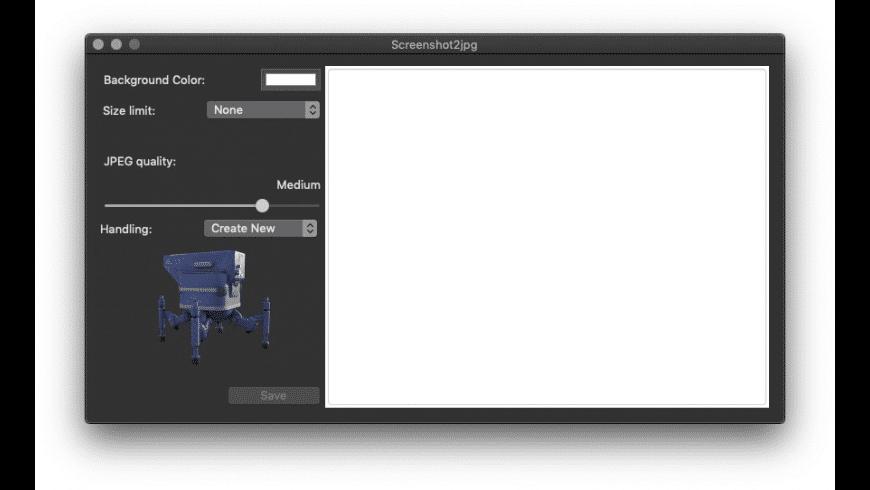 Screenshot2jpg for Mac - review, screenshots