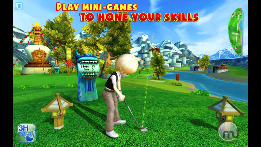 Let's Golf! 3 for Mac - review, screenshots