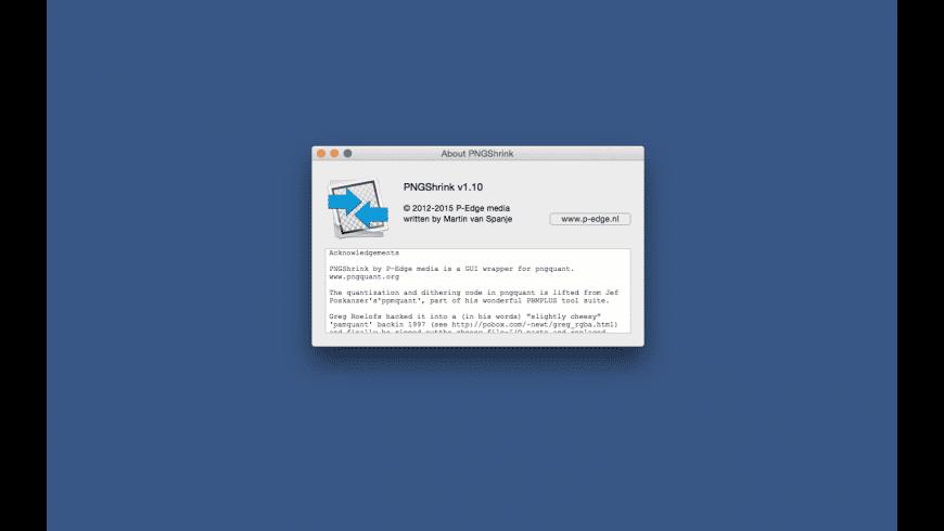 PNGShrink for Mac - review, screenshots