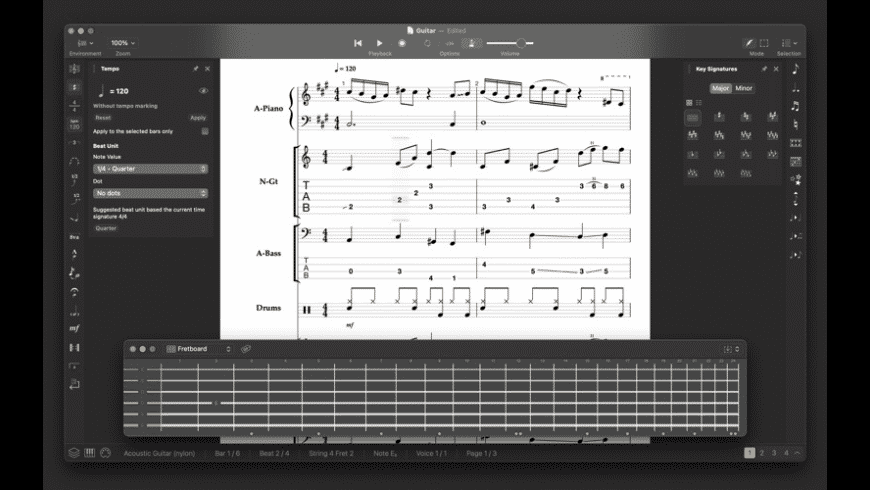 Stave'n'Tabs for Mac - review, screenshots