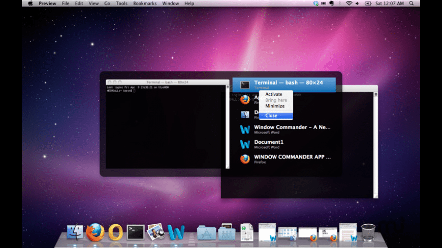 WindowCommander for Mac - review, screenshots
