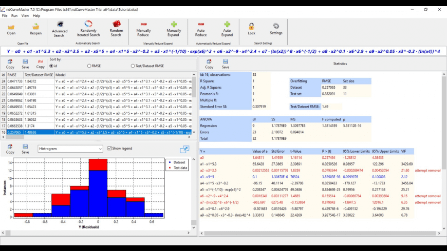 ndCurveMaster for Mac - review, screenshots