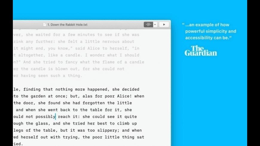 iA Writer for Mac - review, screenshots