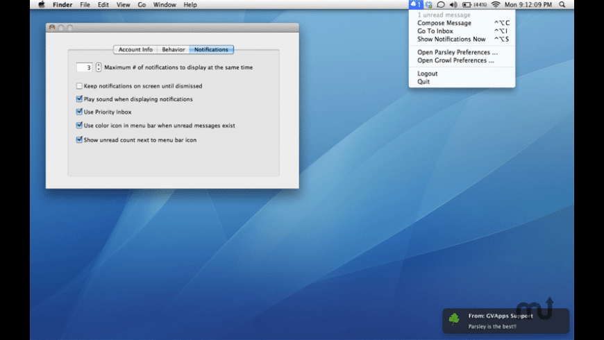 Parsley for Mac - review, screenshots