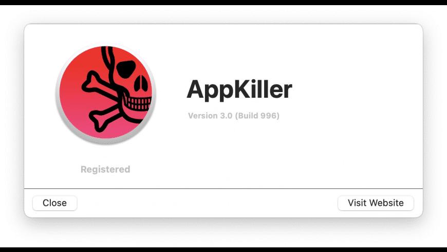 AppKiller for Mac - review, screenshots