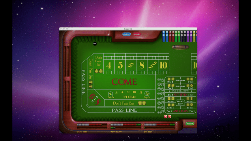 Craps HD for Mac - review, screenshots