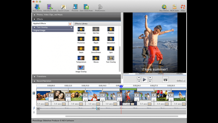 PhotoStage for Mac - review, screenshots