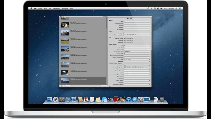 Exif Editor for Mac - review, screenshots