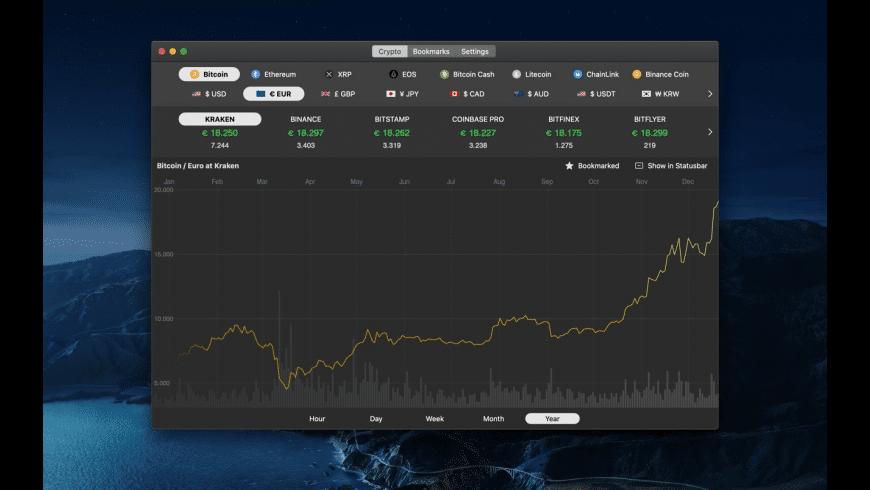 Bitcoin Monitor X for Mac - review, screenshots