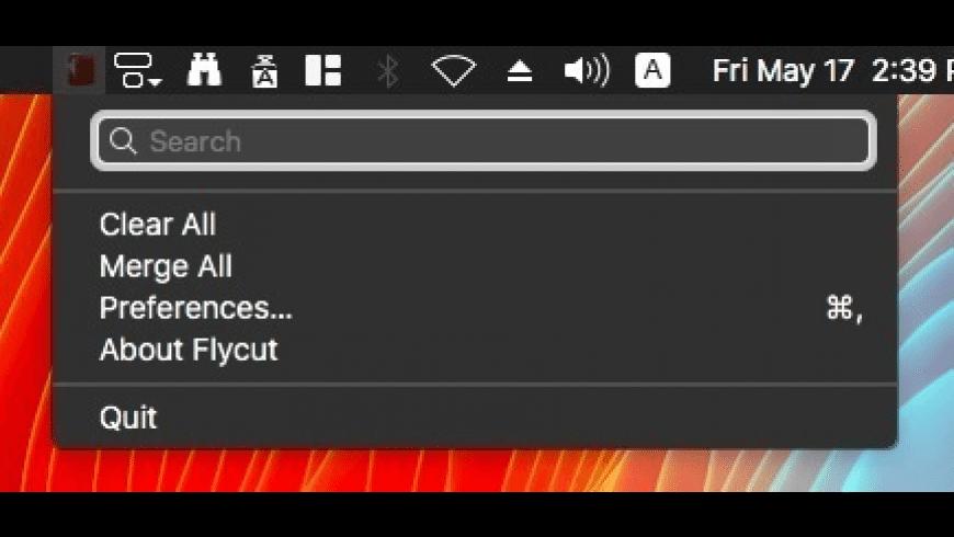 Flycut for Mac - review, screenshots