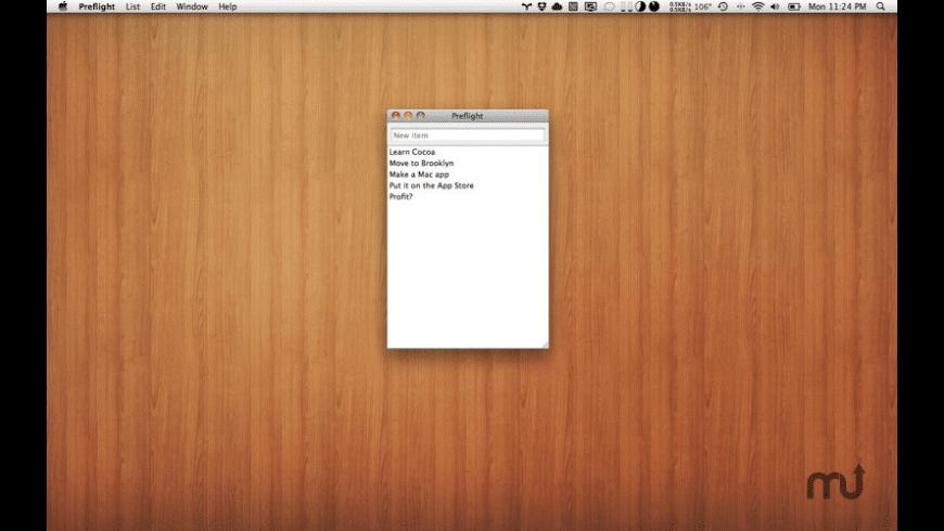 Preflight for Mac - review, screenshots