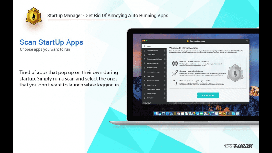 Startup Manager for Mac - review, screenshots