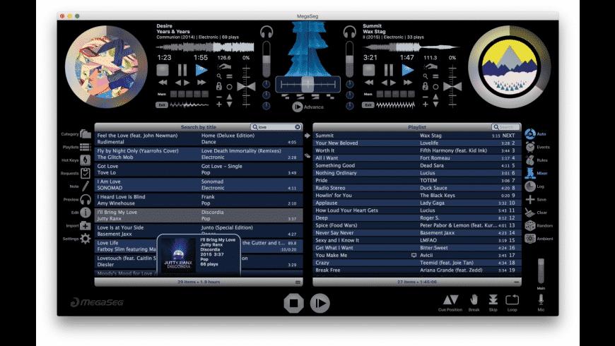 MegaSeg for Mac - review, screenshots