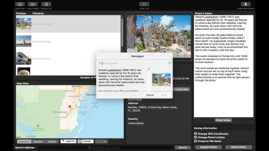 Memory Pictures for Mac - review, screenshots