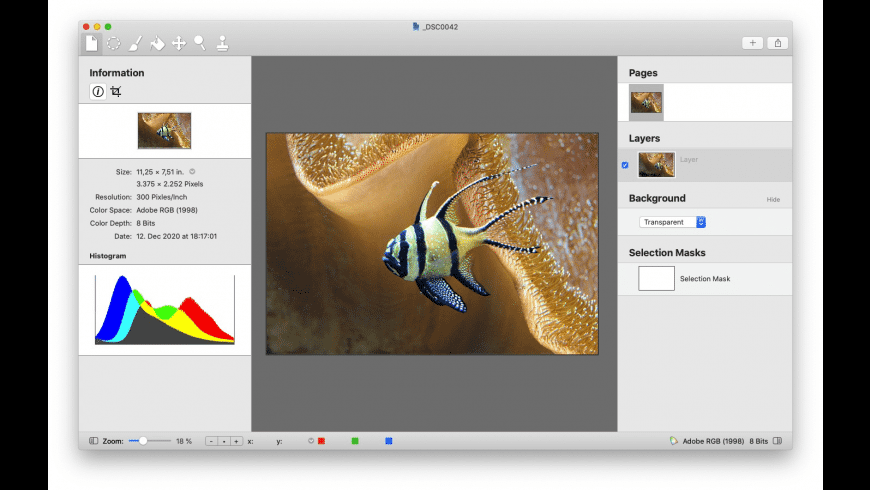 Diffraction for Mac - review, screenshots