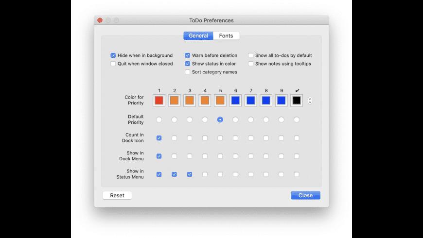 ToDo X for Mac - review, screenshots