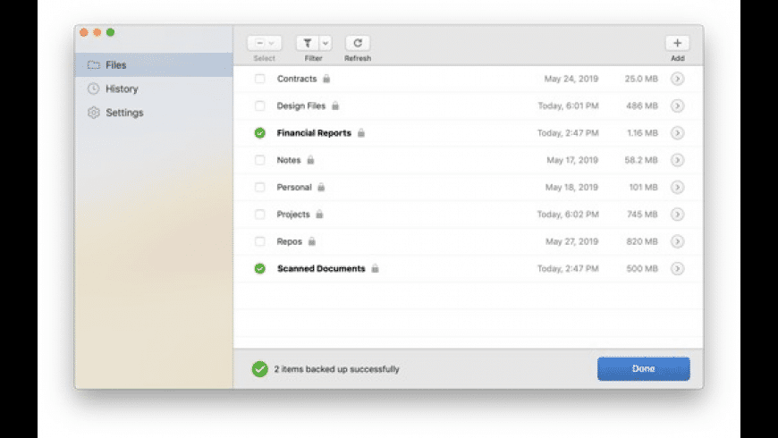 Rebel Backup for Mac - review, screenshots